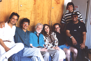 During recordings of Paraíso CD (Gerry Mulligan) New York, July 1993