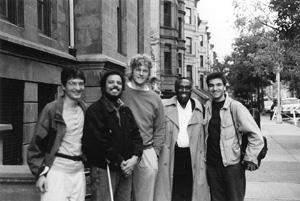 """Durante gravações do CD"""" Crescendo """"- Nova Iorque - 1994"""