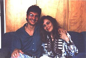 "Gravando o CD ""Paraíso"" - Julho 1993"